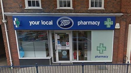 Hitchin's Boots Pharmacy is currently under review, the chain has confirmed. Picture: Google