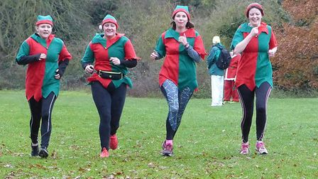 The 5k Santa Canta is set to return this weekend in aid of Garden House Hospice Care. Picture: James