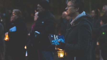 Hundreds attended Lights of Life services in Stevenage and Letchworth this year. Picture: Martin Woo