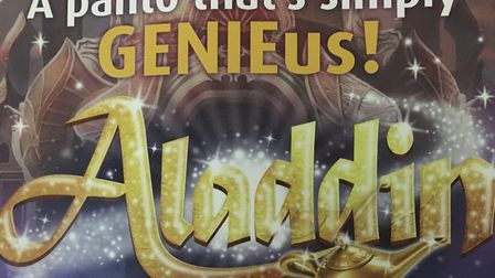 Aladdin will be the 2020 Stevenage pantomime at the Gordon Craig Theatre.