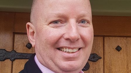 Labour candidate for North East Bedfordshire, Julian Vaughan. Picture: NE Beds CLP