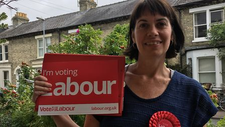 North East Herts' parliamentary candidate for Labour, Kelley Green. Picture: Kelley Green
