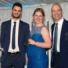 East and North Hertfordshire NHS Trust staff awards 2019: Alice Burrows receiving the Local Hero Awa
