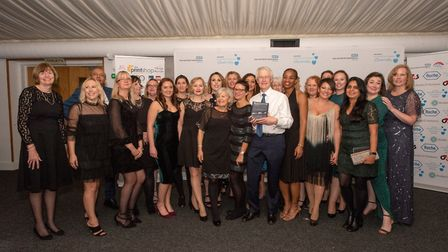 East and North Hertfordshire NHS Trust staff awards 2019: Obstetrics/Maternity were named the Clinic