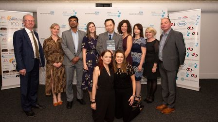 East and North Hertfordshire NHS Trust staff awards 2019: The Respiratory Team - Pleural Service won