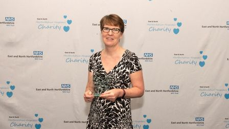 East and North Hertfordshire NHS Trust staff awards 2019: Joyce Presland was the winner of the Roche