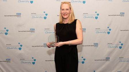 East and North Hertfordshire NHS Trust staff awards 2019: The Inspiring Leadership Award went to Jen