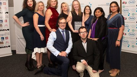 East and North Hertfordshire NHS Trust staff awards 2019: The Compassionate Care Award went to AMU G