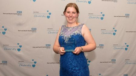 East and North Hertfordshire NHS Trust staff awards 2019: Alice Burrows took home the Local Hero Awa