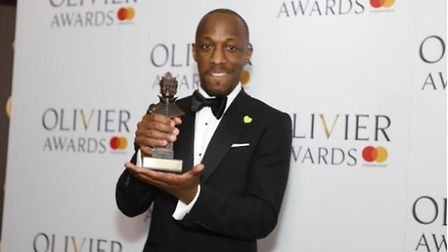 The 43-year-old actor won an Olivier award for Best Actor in a Musical last year. Picture: Pamela Ra