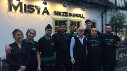 Misya Meze & Grill in Old Town are offering free meals on Christmas Day. Picture: Jacob Savill
