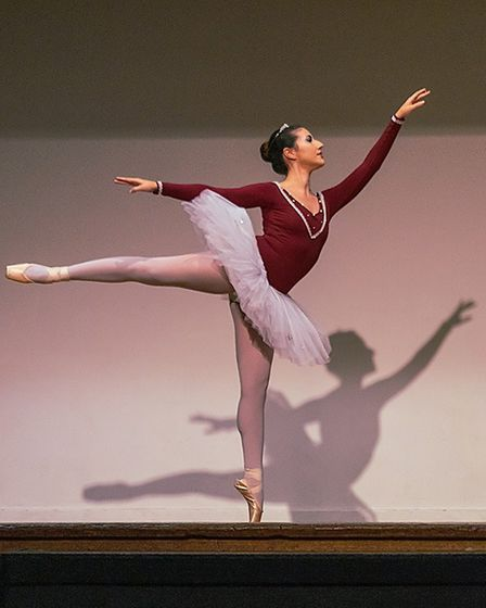 Lara Nascimento Brooks performing a section of the Paquita ballet. Picture: Robert James Ryder