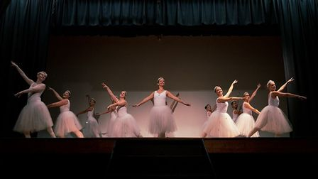 A performance of The Nutcracker's Waltz of the Snowflakes left the audience mesmerised. Picture: Rob