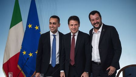 One of these men quit as Italy's prime minister this week - but which? (Question four) (Photo by Ant