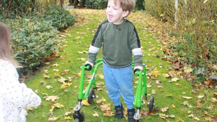 Frankie Sheridan-Hill, aged four, has a neurological condition called H-abc Leukodystrophy - his fam