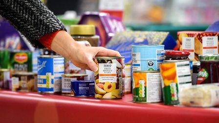 More than 2,000 people will be fed due to Stevenage Tesco shoppers donations. Picture: Pete Maclaine