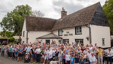 500 people turned up to The Three Tuns' official opening in August. Picture: Greg Butterworth