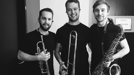 Musicians Nick Mead, Patrick Hayes and Jacob Shaw are enjoying international success, performing wit