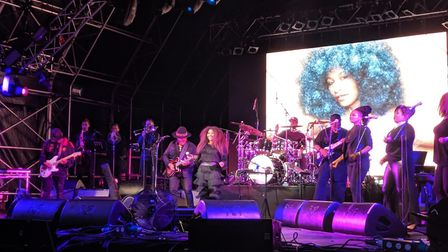 Triple H Horns have played on stage with Chaka Khan - one of their greatest influences. Picture: Cou