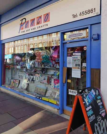 Penco in Hitchin closed its doors for the last time after 23 years in Hermitage Road. Picture: Jeff