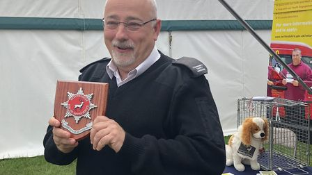 Roy Aldwin will receive an MBE for his volunteering and dedication to Hertfordshire Fire and Rescue