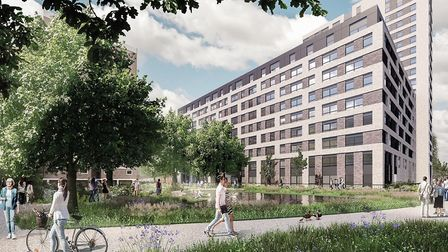 The SG1 planning application for the Stevenage town centre regeneration has been submitted. Picture: