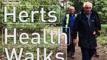 Herts County Council have released short videos to encourage residents to get healthier in 2020. Pic