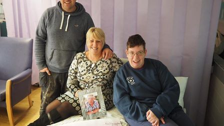 Karen Gilbert has raised £11,000 for Garden House Hospice Care, which will fund a cuddle bed, in mem