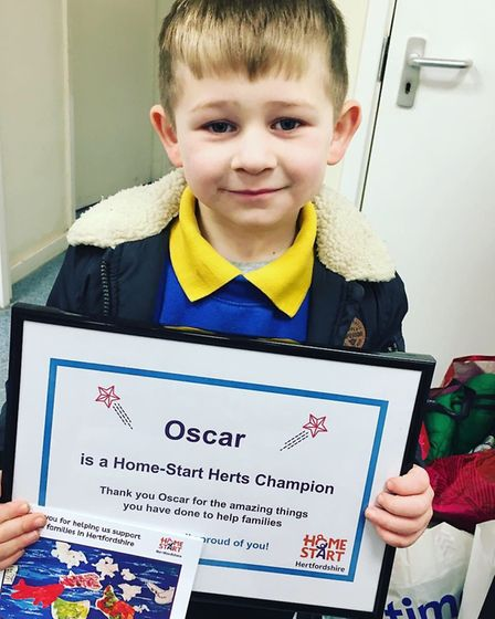 Oscar's Christmas Appeal has already helped homeless people and will now turn to the families helped