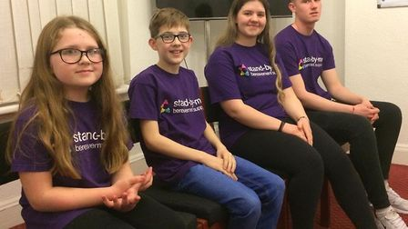 To mark Children's Mental Health Week, Jack, Mia, James and Daisy have shared how Stand-by-me helped