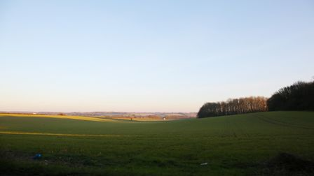 A view of the proposed Gresley Park site in Beane Valley, Stevenage. Picture: DANNY LOO