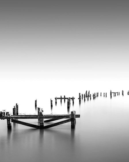 'Swanage Old Pier' by Adam Newsome - 1st award in Digital Images.