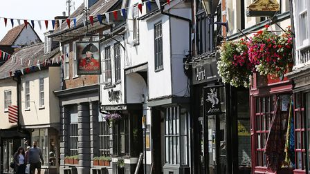 Hitchin narrowly missed out on top spot in the Great British High Street Awards 2019. Picture: Danny