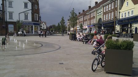 Letchworth has been earmarked for new cycle infrastructure under new transport plans. Picture: Archa