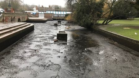 The River Hiz will be getting its annual clean this week. Picture: NHDC