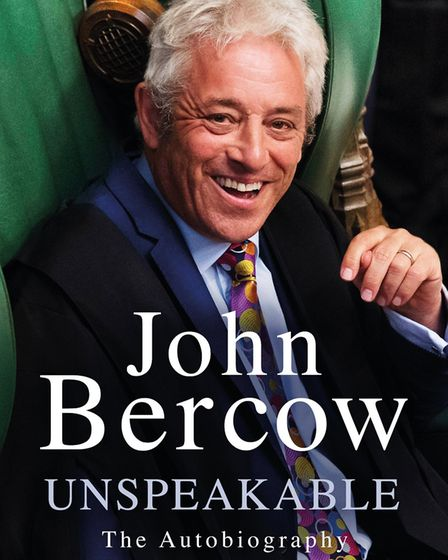 Former Speaker of the House, John Bercow will talk about and sign his memoir, Unspeakable, at a book