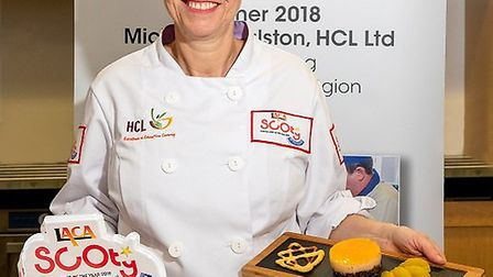 Hitchin's Katherine Bridge was crowed last year's regional Chef of the Year. Picture: James Kennedy