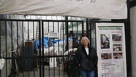 Jenny Jones at Green House Community Market, Letchworth. Picture: Supplied