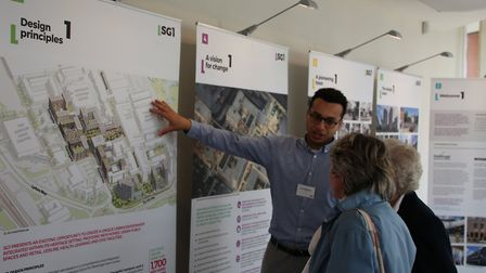 More than 500 people went along to Mace's exhibition of its plans for Stevenage's town centre regene