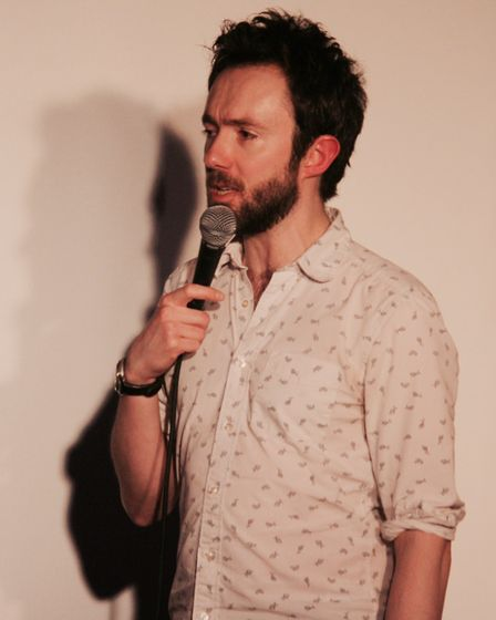 David Ephgrave at Hitchin Mostly Comedy. Picture: Gemma Poole