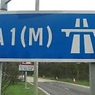 A crash on the A1(M) between J7 and J6 is causing long delays. Picture: Archant