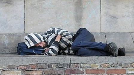 An awareness campaign over the link between modern slavery and homelessness has been launched. Pictu