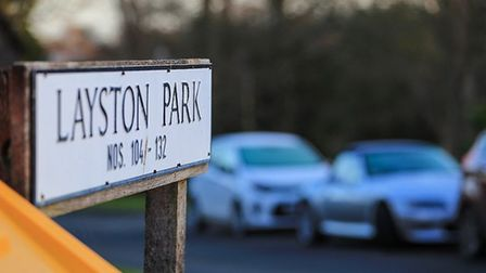 Cars parking has become a headache for Layston Park residents. Picture: KEVIN RICHARDS