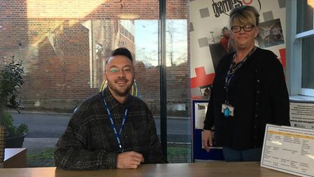 Staff at Stevenage Haven in Ditchmore Lane. Picture: Jacob Savill