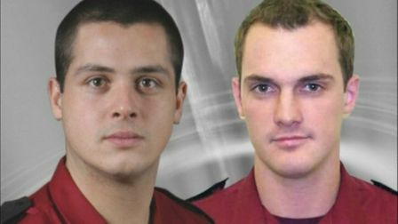 The Herts firefighting community are remembering Stevenage firefighters Michael Miller and Jeff Worn
