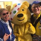 The Laughter Specialists who bring a smile to poorly children. Photo: CONTRIBUTED.