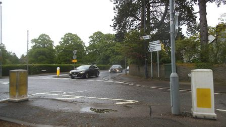Residents can have their say on new road safety measures for Norton Way North. Picture: David Howard
