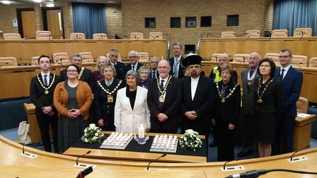 Stevenage Borough Council marked Holocaust Memorial Day 2020 with an annual event at the council cha