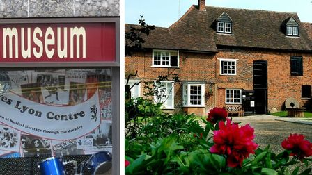Free creative workshops are to be offered at museums in Stevenage and Hatfield, among others. Pictur