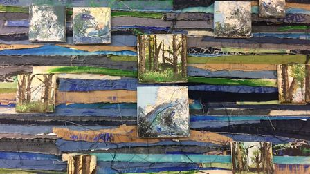 Previews of The Highfield and Fearnhill schools A-level art exhibition. Picture: Jacob Savill